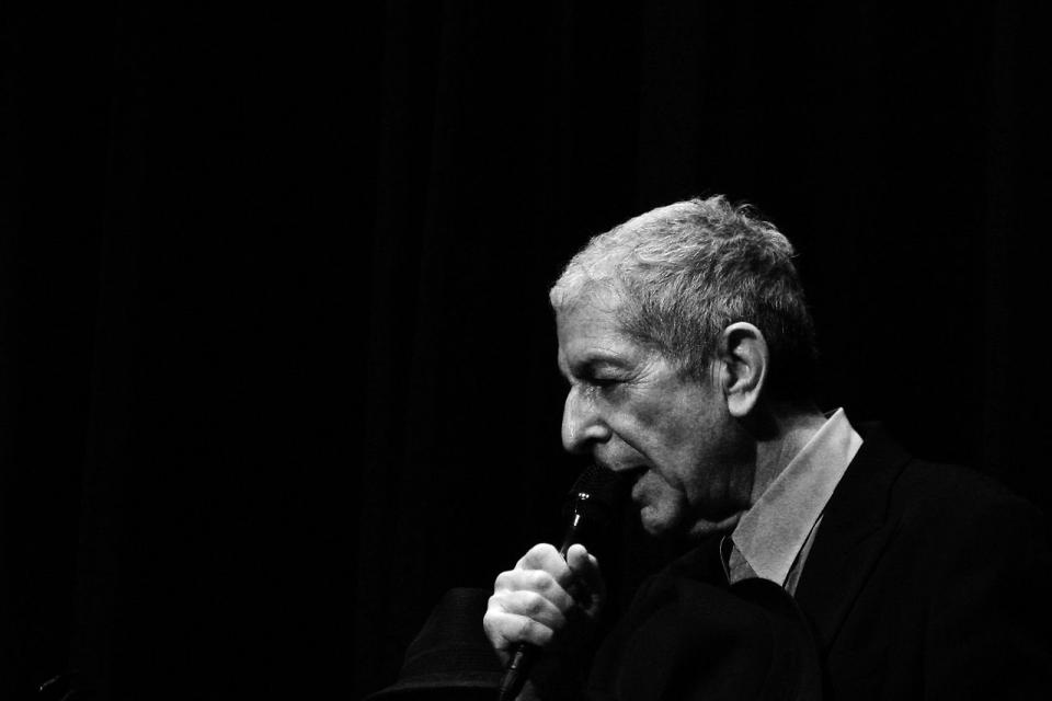 EASY ED'S BROADSIDE: An Afternoon with Leonard Cohen
