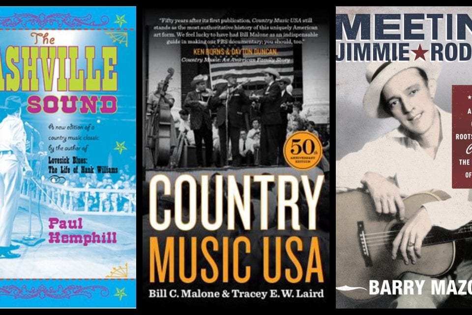 THE READING ROOM: Books for Diving Deeper into Country Music